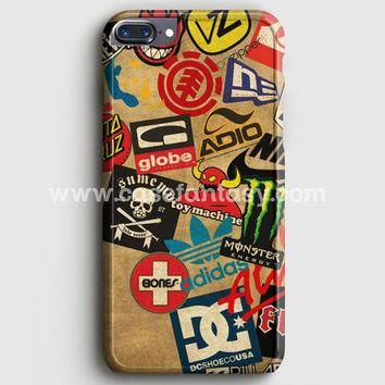 Skateboard Dc Vans Globe Adidas iPhone 7 Plus Case | casefantasy