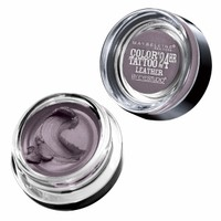 Maybelline Color Tattoo 24Hr Leather by EyeStudio Cream Gel Eyeshadow, Vintage Plum