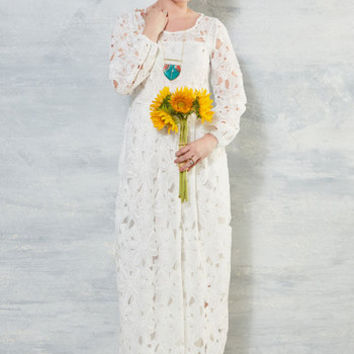 Lawfully Wedded Blithe Dress in White