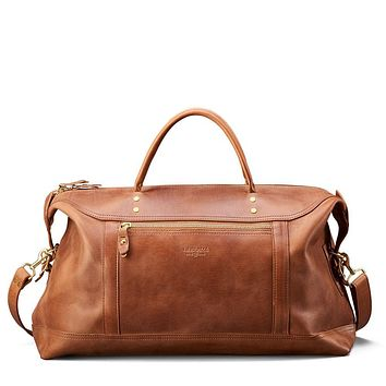 J.W. Hulme - Saddle Heritage Leather Large Weekender Bag
