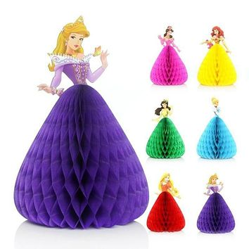 New Lovely Princess Invitation Cards 3D Birthday Party Card Decorations Party Supplies Wedding Party Decorations