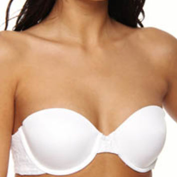DKNY 454195 Signature Lace Perfect Lift Strapless Bra