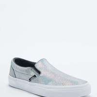 Vans Slip-On Classic Silver Trainers - Urban Outfitters