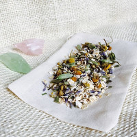 Sweet lullaby soothing oatmeal, chamomile, lavender bath ; calming, gentle, tea bath for babies