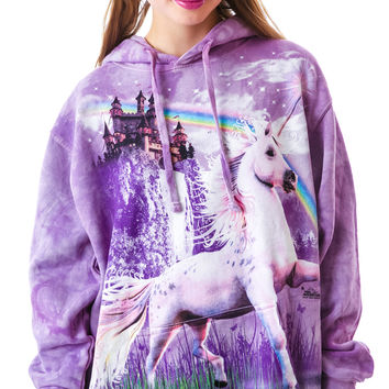 The Mountain Unicorn Castle Hoodie Iris
