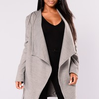 Manhattan City Coat - Grey