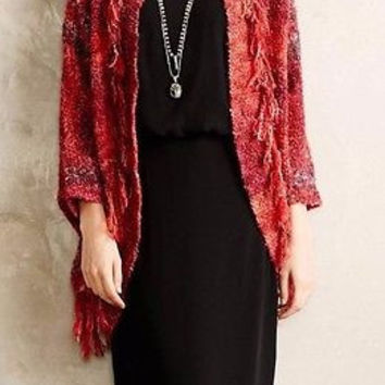 NWT Anthropologie Boucle Cocoon Cardigan Sz L -  Sleeping on Snow