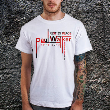 Rest In Peace Paul Walker the True Driver of Skyliner Men T-Shirt, Cotton, Various Color Available