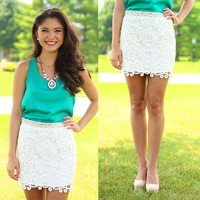 Charmed To Meet You Skirt