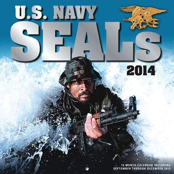 U.S. Navy SEALs 2014: 16 Month Calendar - September 2013 through December 2014