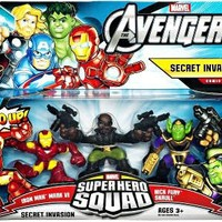 Marvel The Avengers Superhero Squad Secret Invasion Theme Pack