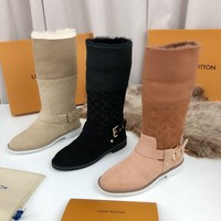 Louis Vuitton LV Boot with wool