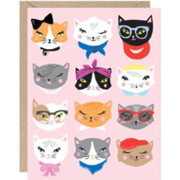 Catitude Note Cards