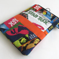 Star Trek Kindle Cover / Kirk & Spock Nook Case / Trekkie Tablet Sleeve / Geekery / Sci Fi Ereader  / Science Fiction / iPad Optional / Geek