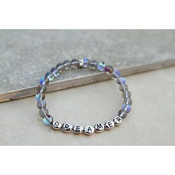 Dreamer Gemstone Bracelet in Blues and Greens