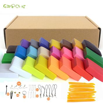 24 colors/set oven-bake fimo polymer clay with tools Early Education brinquedo fashional fimo clay best gift for kids