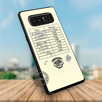 Harry Potter Hogwarts Library Card iPhone X 8 7 Plus 6s Cases Samsung Galaxy S8 Plus S7 edge NOTE 8 Covers #iphoneX #SamsungS8