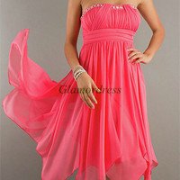 cheap chiffon prom dresses on sale unique homecoming dress with rhinestone discount gowns for holiday party hot