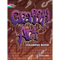 Graffiti Art Coloring Book - Walmart.com