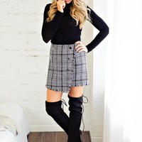 * Not the Ordinary Skirt Tweed - Plaid