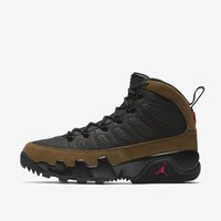 Air Jordan 9 Retro IX Boot NRG OLIVE AR4491-012 100% Authentic sz 8 Winter Nike