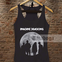 Indie Rock Imagine Dragons Radioactive Tank by tataboga