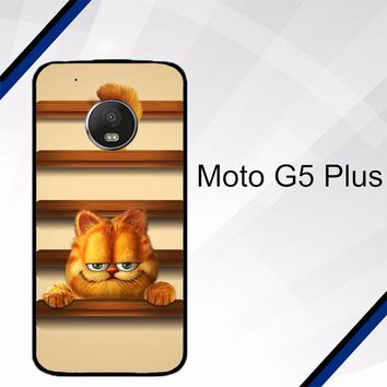 cute garfield wallpaper Y1333 Motorola Moto G5 Plus Case