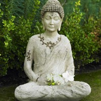 Enlightened Buddha Outdoor Statue - VivaTerra