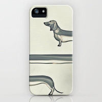 SAUSAGE DOG iPhone & iPod Case by M✿nika  Strigel