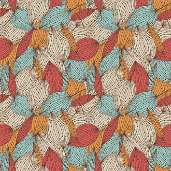 Colorful Autumn Removable Wallpaper