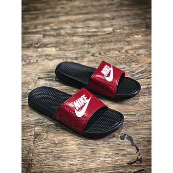Nike Benassi Swoosh Sandals Style #11 Slippers
