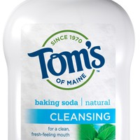 Tom's of Maine Cleansing Baking Soda Natural Alcohol-Free Mouthwash