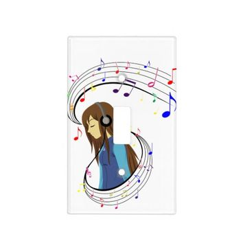 The Color of Music Light Switch Cover