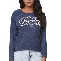 Hurley Freedom Bruna T-Shirt - Womens Tee - Blue
