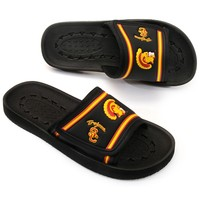 USC Trojans Slide Sandals - Adult (Black)