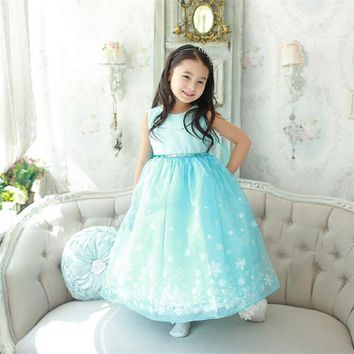 Christams Princess infant Dress girl party girls dresses summer 2017 toddler kids girl dress for girls Clothes Role Play Costume