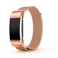 stainless steel Magnetic Milanese bracelet fitbit replacement bands For Fitbit charge 2 strap For Fitbit charge 2 Band 4 Colors