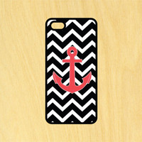 Zig Zag Anchor Design Phone Case iPhone 4 / 4s / 5 / 5s / 5c /6 / 6s /6+ Apple Samsung Galaxy S3 / S4 / S5 / S6