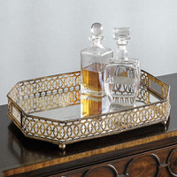 Antiqued Mirrored Trays | Gump's