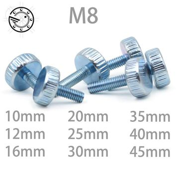Knurling Flat Head Knurled Thumb Screw