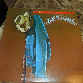 Vinyl Record - DON WLLIAMS - The Best Of Don Williams, Volume II - Vintage Vinyl 1979