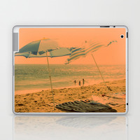 orange sky Laptop & iPad Skin by Marianna Tankelevich