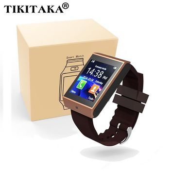 Bluetooth Smart Watch Smartwatch Hands free Wrist Watch  For Android