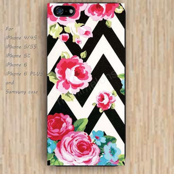 iPhone 5s 6 case rose restore flowers chevron dream phone case iphone case,ipod case,samsung galaxy case available plastic rubber case waterproof B742