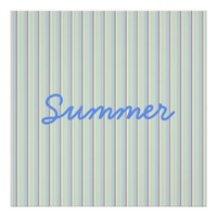 Summer Striped Poster