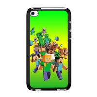 minecraft all character iPod Touch 4th case