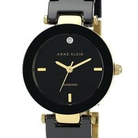 Women's Anne Klein Round Ceramic Bracelet Watch, 28mm