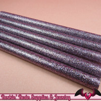 5 LiGHT PuRPLE Glitter Mini Hot GLUE STICKS / Deco Sauce / Fake Icing / Nail Art Stick / Faux Wax Seals