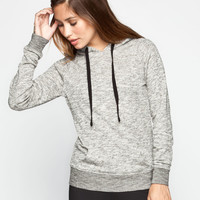 FULL TILT Womens Essential Marled Hoodie | Essentials