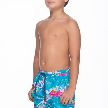 Estivo Waves Boy's Swim Trunk